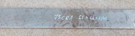 75Cr1 - 1.2003 késacél 6,5x66x1040mm