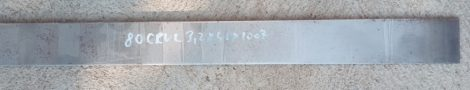 80CrV2 (1.2235) acél - 3,2x40x500 mm