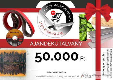 Ajándékutalvány 50.000 Ft értékben
