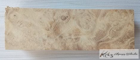 Akác Csomor markolatanyag 26x41x128mm