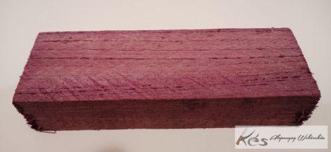 Amaranth-Purpleheart 26x42x126mm tömb