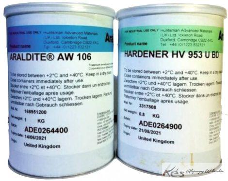 Araldite® (Standard-extra strong 2011)AW106(1kg) / HV953U(0,8kg)