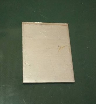 Baknianyag 3x35x45mm 1.4301 Saválló acél