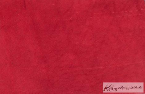 Bőr anyag 3x200x300mm Pirosra festett növenyi cserésű marhabőr