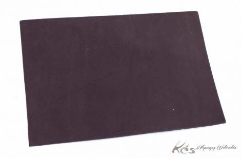 Bőr anyag 3x200x300mm Barnára festett növenyi cserésű marhabőr