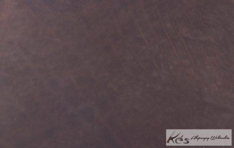 Bőr anyag 3x200x300mm Barnára festett viaszolt növenyi cserésű marhabőr