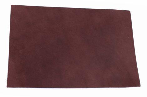Bőr anyag 3x200x300mm konyak színűre festett növenyi cserésű marhabőr