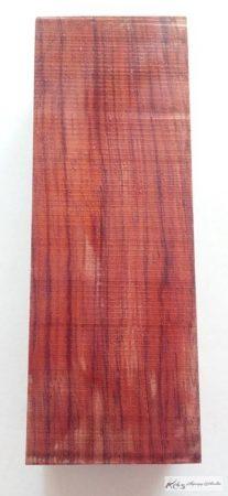 Bubinga markolat tömb 30x40x125mm