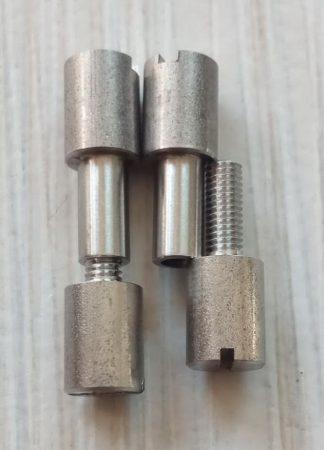 Corby Csavar Inox D6-d4-26mm 2 pár