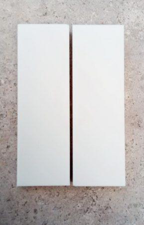 Corian - Elefántcsont 12x42x130mm panelpár