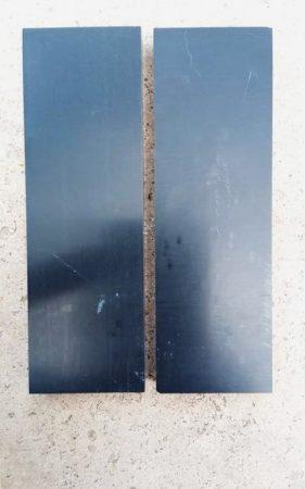 Corian - Fekete12x42x130mm panelpár