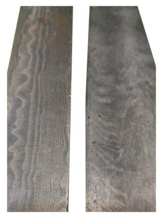 O2 + 15N20 Damaszk acél - (választható 80-560 réteg)