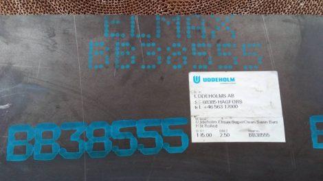 Elmax rozsdamentes acél - 2,6x198x308 mm