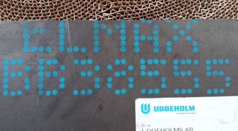 Elmax rozsdamentes acél - 4x40x501 mm