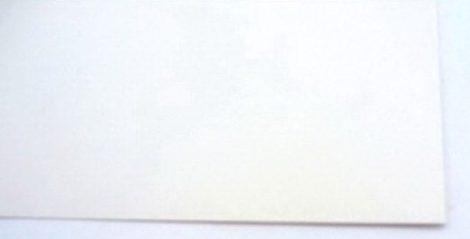Fíber 0,8x125x260 mm - Fehér