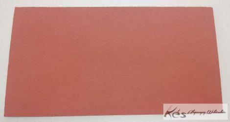 VulcanFíber 0,5x125x240 mm -Tégla vörös