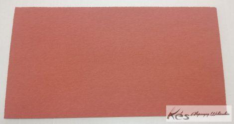 VulcanFíber 0,8x125x240 mm -Tégla vörös