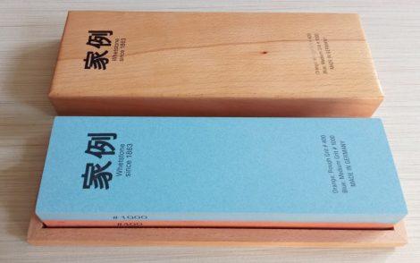 Whetstone Fenőkő kombinált 200x60x30mm400/1000 piros/kék