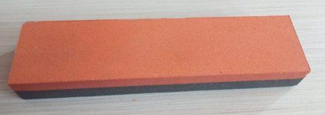 Fenőkő kombinált 200x50x25,4mm150/280 Szürke/piros