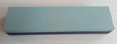Fenőkő kombinált 200x50x25,4mm150/280 Zöld/Szürke