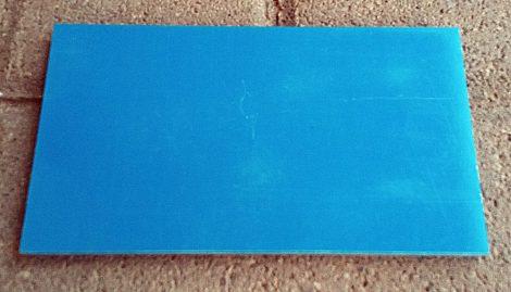 G10 Kék 6,5x120x140mm