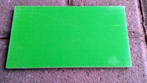 G10 Világos zöld 6,5x78x140mm