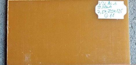G11 Világosbarna 7,5x70x125mm