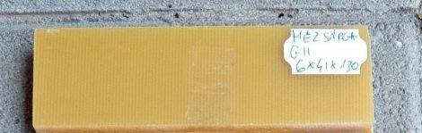 G11 Méz Sárga 6x41x130mm Pár