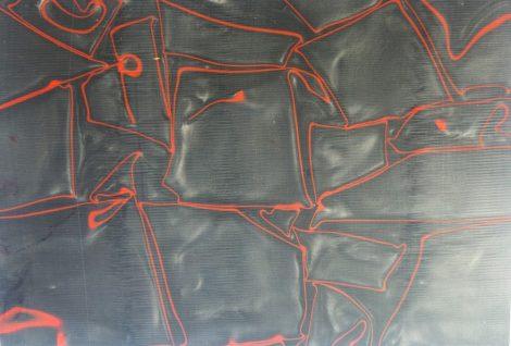 Kirinite Lava Flow 6,5x160x240mm panel tábla