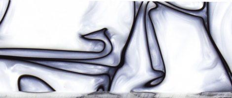 Kirinite Pearl Fehér/Fekete 9,5x40x130mm  panelpár