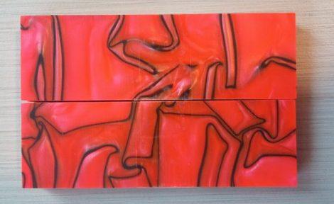 Kirinite Toxic orange 6,5x40x130mm Panelpár