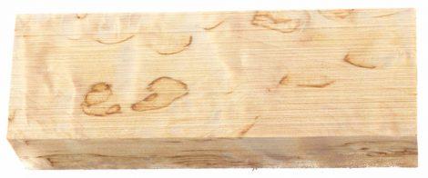 Karéliai Csomoros Nyír 40x30x130mm egyszerű mintázat