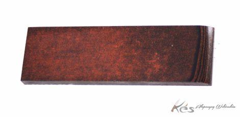 Micarta Panelpár Rozsda/Fekete 8x40x130mm