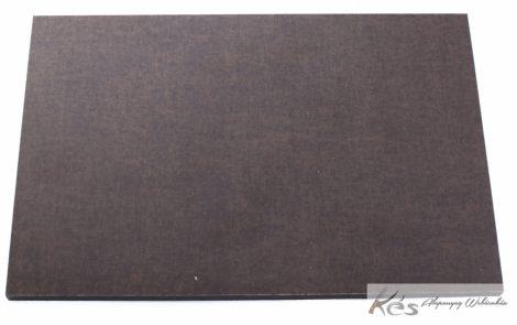 Vászon Micarta Barna/Fekete tábla 8x160x240mm