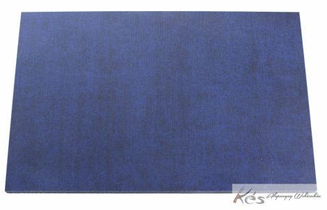 Vászon Micarta Kék-Fekete tábla 6x160x240mm
