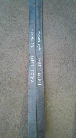 O2 - M1-1.2842 acél - 3x30x505 mm