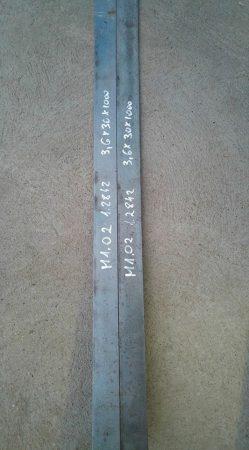 O2 - M1-1.2842 acél - 3,5x30x1010 mm