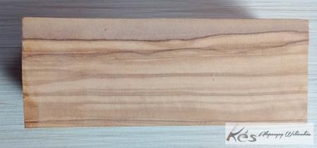 Olive fa markolat tömb nagy 45x45x150mm