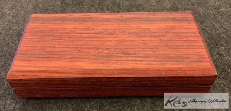 Padouk markolat panelpár 41x10x130mm