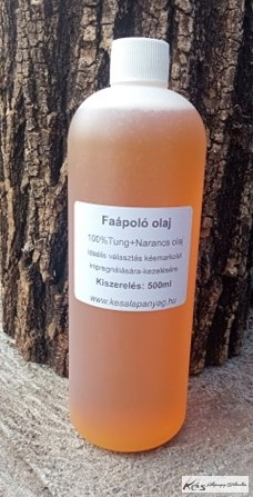 Tung+Narancs olaj 0,5 Liter Faápoló olaj