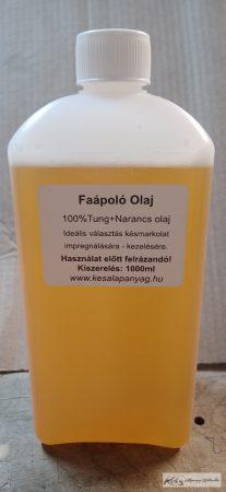 Tung+Narancs olaj 1 Liter Faápoló olaj