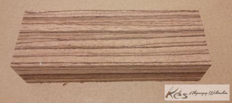 Zebránó fa markolat tömb 28x45x130mm