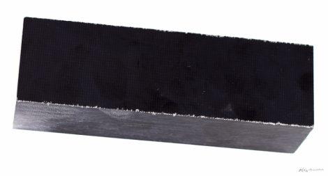 Zsák Micarta Markolat tömb Fekete 36x40x130mm
