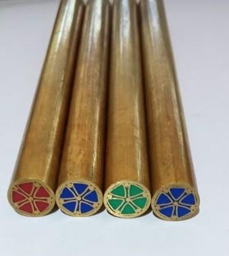 Mozaik szegecs D8x97mm 5 mintás