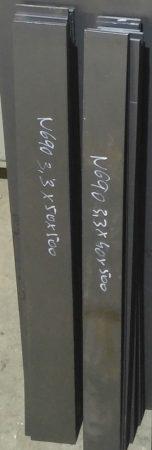 N690 3,2x50x502mm Rozsdamentes késacél